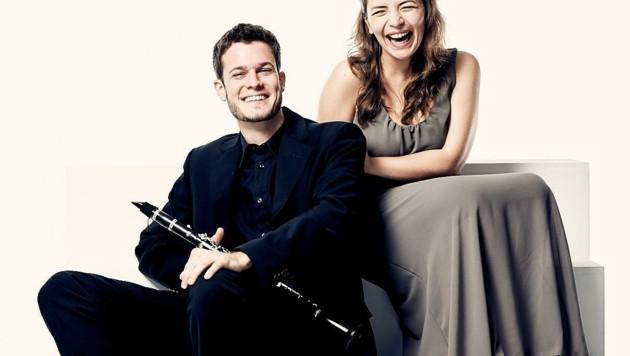 Yuliya Balabicheva (rechts) steht für viele Lehrende am Joseph Haydn Konservatorium, die als Künstler aktiv sind, womit die Verbindung zwischen Lehre und Praxis auf höchster Ebene garantiert wird. (Bild: Haydnkons)