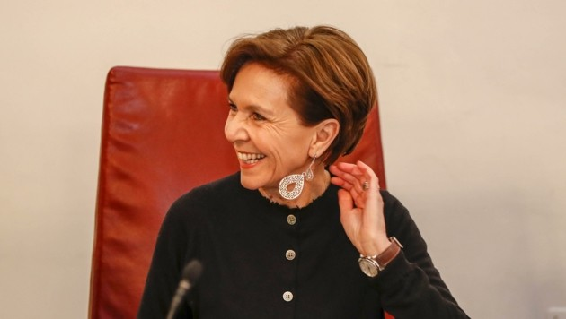 Als Politikerin geschätzt: Brigitta Pallauf (Bild: Tschepp Markus)