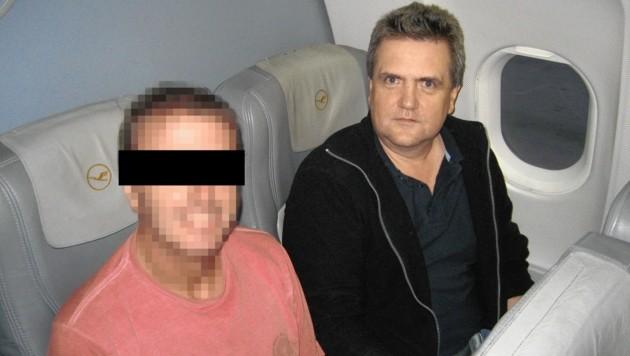Der Leiter der Zielfahnder holte Millionen-Steuerbetrüger Werner R. 2009 persönlich in Brasilien ab.