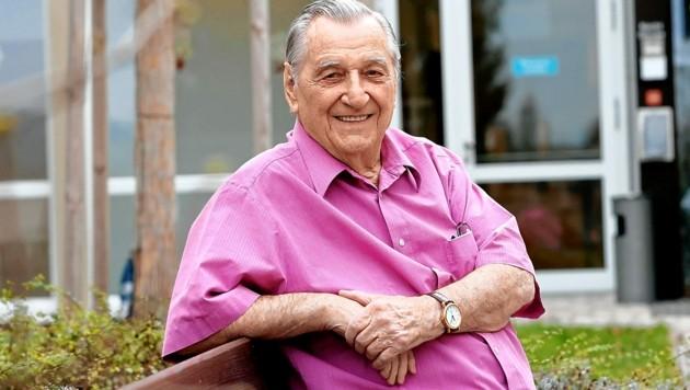 Herbert Leitner (91) geht es nach seiner Impfung gut.