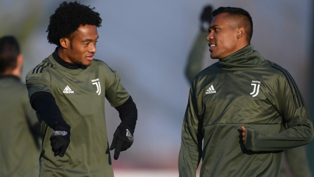 Juan Cuadrado und Alex Sandro (Bild: AFP)