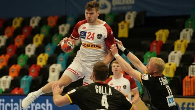 Handball-Teamspieler Daniel Dicker (Bild: Pail Sepp)
