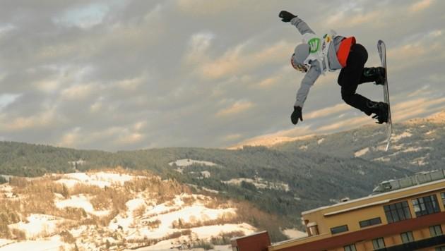 Anna Gasser sprang am Kreischberg ins Finale. (Bild: Sepp Pail)