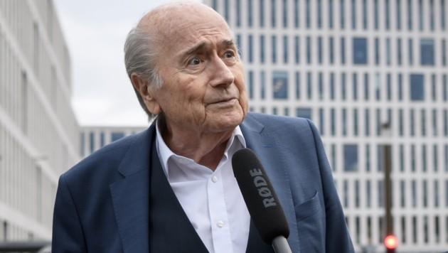 Sepp Blatter (Bild: afp)