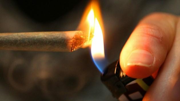 """Cannabis führt die """"Hitliste"""" in Vorarlberg an. (Bild: Oliver Berg dpa/lnw)"""