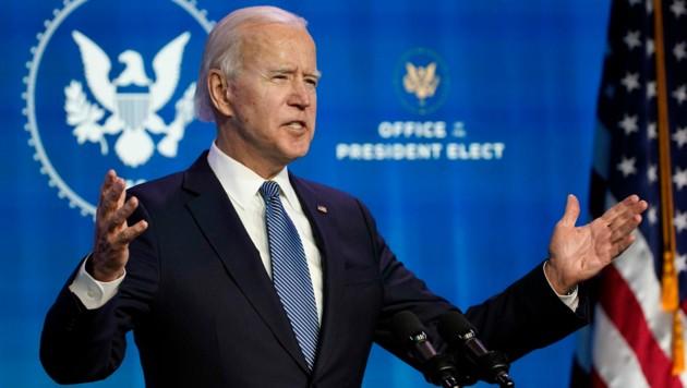 Joe Biden will mit seinem Team die Krisen in den USA überwinden.