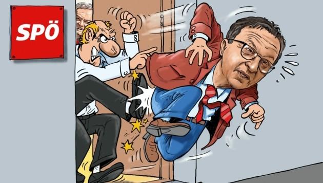 (Bild: Karikatur: Zettler Alfred)