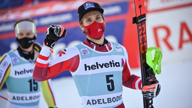 Marco Schwarz (Bild: APA/AFP/Fabrice COFFRINI)