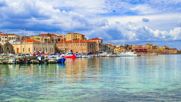 Chania auf Kreta (Bild: stock.adobe.com, Krone KREATIV)
