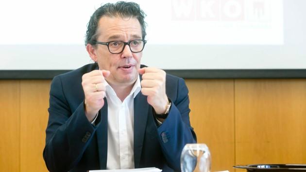 WK-Präsident Hans-Peter Metzler ist froh darüber, dass die meisten Unternehmen robust sind.
