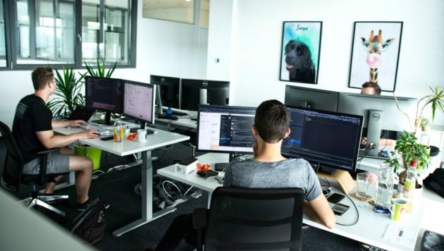 In den Büros ist Platz und Freiraum das Gebot der Stunde. (Bild: bluesource mobile solutions gmbh)