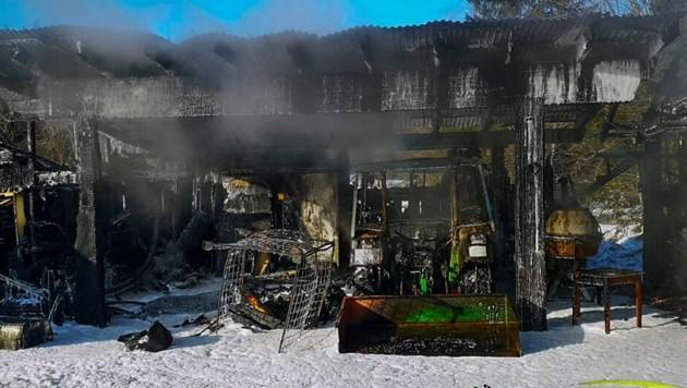 Der Brand in Oetz