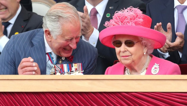 Prinz Charles und Queen Elizaberth II. (Bild: APA/Photo by Chris Jackson /POOL/AFP)