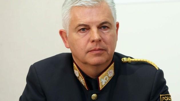 Der steirische Vize-Polizeidirektor Alexander Gaisch (Bild: Jürgen Radspieler )