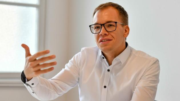 Martin Behrens räumte für Presono in der Show im Vorjahr ein Fernseh-Werbebudget in Millionenhöhe ab.