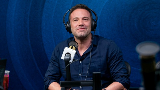 Ben Affleck in der Jess Cagle Show in den SiriusXM Hollywood Studios (Bild: APA/Emma McIntyre/Getty Images for SiriusXM/AFP)
