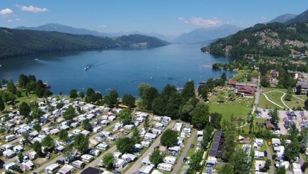 Camping Brunner am See. (Bild: Brunner)