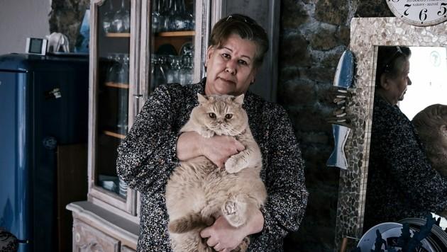 Jeanne Pouchain gilt seit 2017 als tot und will das Gericht vom Gegenteil beweisen. (Bild: APA/AFP/JEAN-PHILIPPE KSIAZEK)