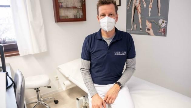 Matthias Ullner ist Arzt in Steyregg (Bild: Einöder Horst)