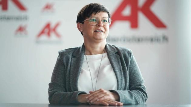 Andrea Heimberger, Direktorin der Arbeiterkammer OÖ (Bild: Markus Wenzel)
