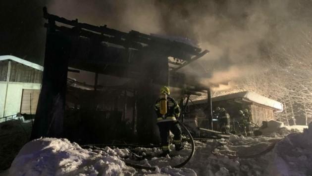 (Bild: Feuerwehr Sachsenburg)