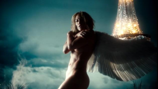 """Jennifer Lopez verzaubert ihre Fans als nackter Engel im Clip zum neuen Song """"In The Morning"""". (Bild: instagram.com/jlo)"""