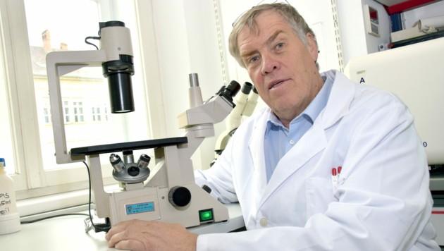 Impfspezialist Reinhard Würzner von der Medizin-Uni Innsbruck (Bild: MUI/Bullock)