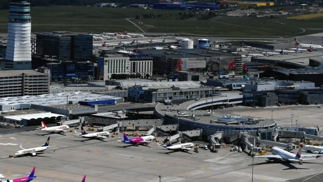 Der Flughafen Wien (Bild: Patrick Huber)