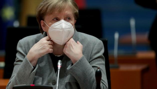 Deutschlands Kanzlerin Angela Merkel (CDU) (Bild: AFP)