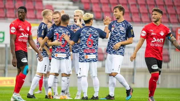 Die Cup-Partie zwischen Austria Klagenfurt und ATSV Stadl-Paura steht offenbar unter Manipulationsverdacht. (Bild: GEPA pictures)