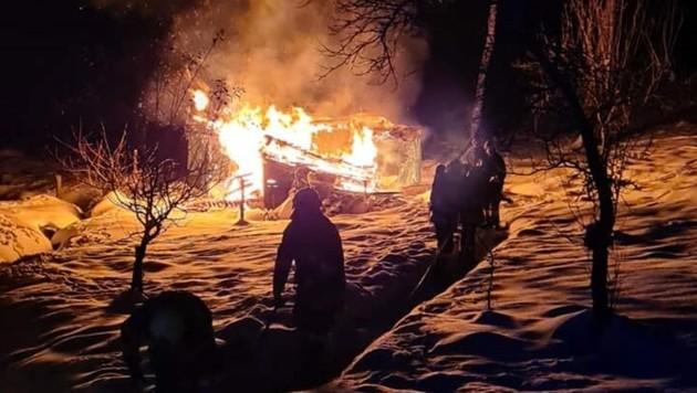 (Bild: Feuerwehr Maria Rain)