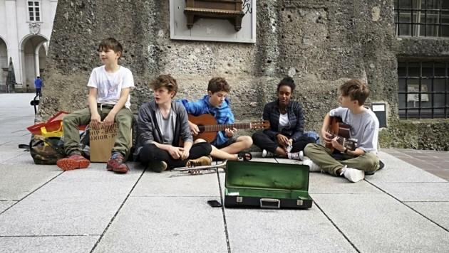 Die jüngste Salzburger Band, die es diesmal auf den Rockhouse-Sampler geschafft hat: The Voice Breakers (Bild: Magdalena Lepka)