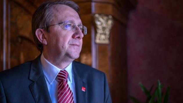 Bürgermeister Matthias Stadler (Bild: ARMAN BEHPOURNIA)