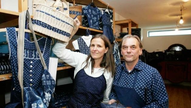 Josef und Miriam Kóo führen den Familienbetrieb gemeinsam. (Bild: Reinhard Judt)