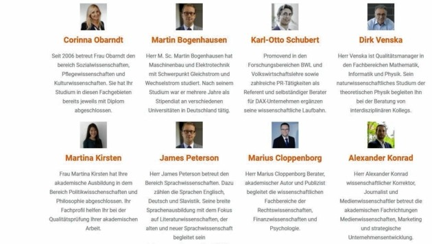 500 hoch angesehene Akademiker arbeiten für die deutsche Schreibwerkstätte von Markus Beckmann. (Bild: Autorenkanzlei Beckmann)