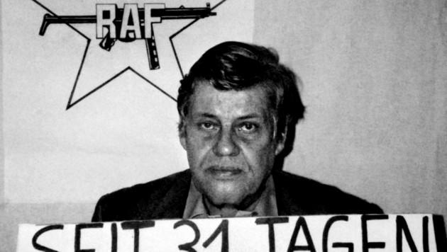 deutscher Arbeitgeberpräsident Hanns Martin Schleyer wurde 1977 von der RAF entführt und getötet. (Bild: AFP)