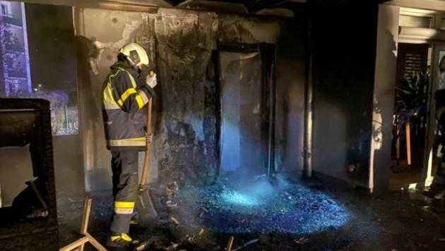 Mehrere Feuerwehren standen im Einsatz. (Bild: FF Wolfsberg)