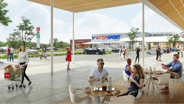 Im Frühjahr 2022 - nach Corona - soll der EO Park öffnen. (Bild: Rutter Immobilien Gruppe)