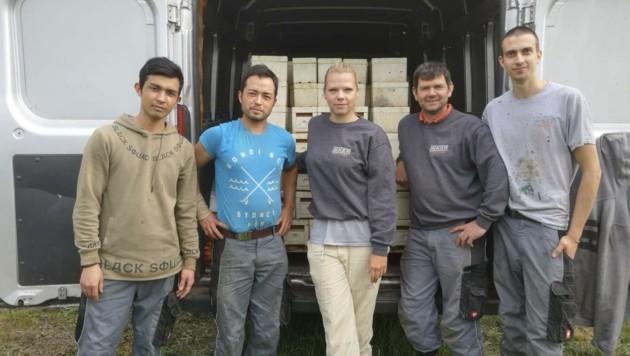 Das Team der Pannonischen Imker sucht nach einem Lehrling (Bild: Mario Vogel)