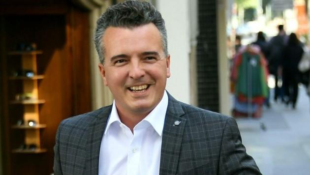 Der Kärntner FPÖ-Landesobmann Gernot Darmann übernimmt nun auch die Klagenfurter Stadtpartei. (Bild: APA/HELMUT FOHRINGER)