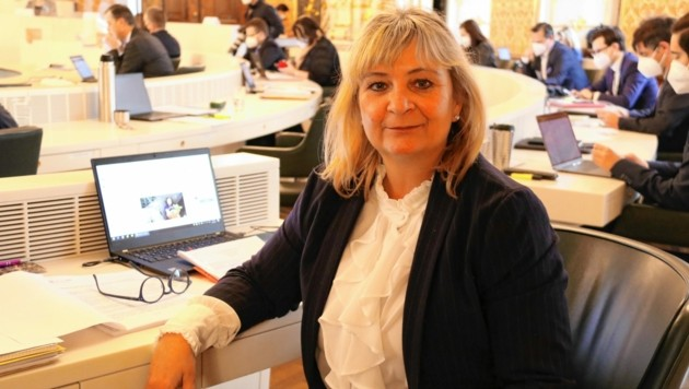 Claudia Klimt-Weithaler (KPÖ) (Bild: Christian Jauschowetz)