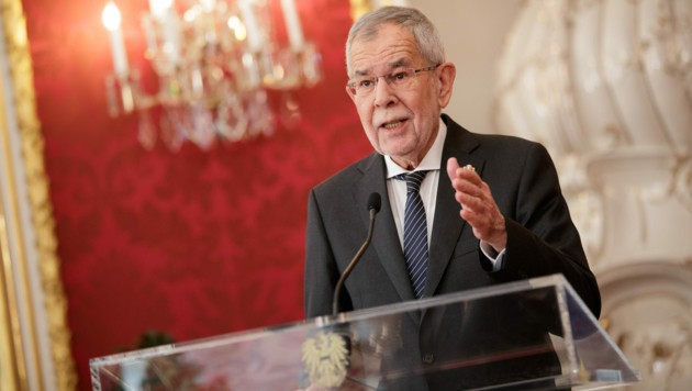 Bundespräsident Alexander Van der Bellen (Bild: APA/BUNDESHEER/PETER LECHNER)