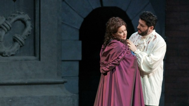 """Favorit in der Gunst des Publikums: """"Turandot"""" mit Anna Netrebko und Yusif Eyvazov (Bild: (c) Wiener Staatsoper / Michael Pöhn)"""