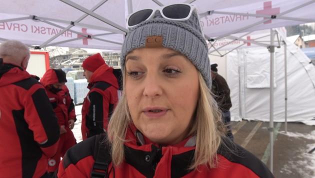 Katarina Zoric, seit fünf Jahren Pressesprecherin beim Roten Kreuz (Bild: Alexander Bischofberger-Mahr)