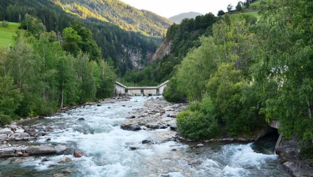 Das Kraftwerk an der Schwarzach in Osttirol. (Bild: WWF/Marianne Götsch)