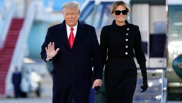 Donald Trump Melania Trump (Bild: APA/AP Photo/Manuel Balce Ceneta)