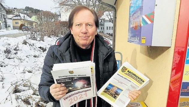 Auch Ärgernisse wie derzeit mit der Post machen Ortschef Weghofer nicht amtsmüde. (Bild: Reinhard Judt)