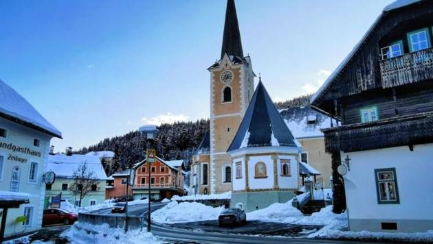 St. Martin ist eine der vier Pfarrkirchen in Himmelberg. Viele Einwohner sind Protestanten. (Bild: Natalie Victoria Lev)