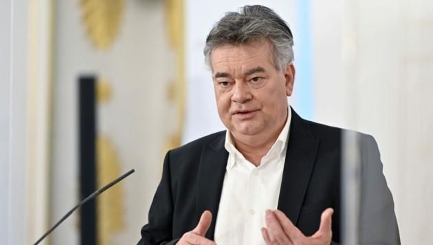 Vizekanzler Werner Kogler (Grüne) (Bild: APA/HERBERT NEUBAUER)