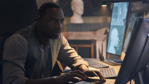 """Omar Sy in der französischen Miniserie """"Lupin"""" (Bild: Emmanuel Guimier/Netflix)"""